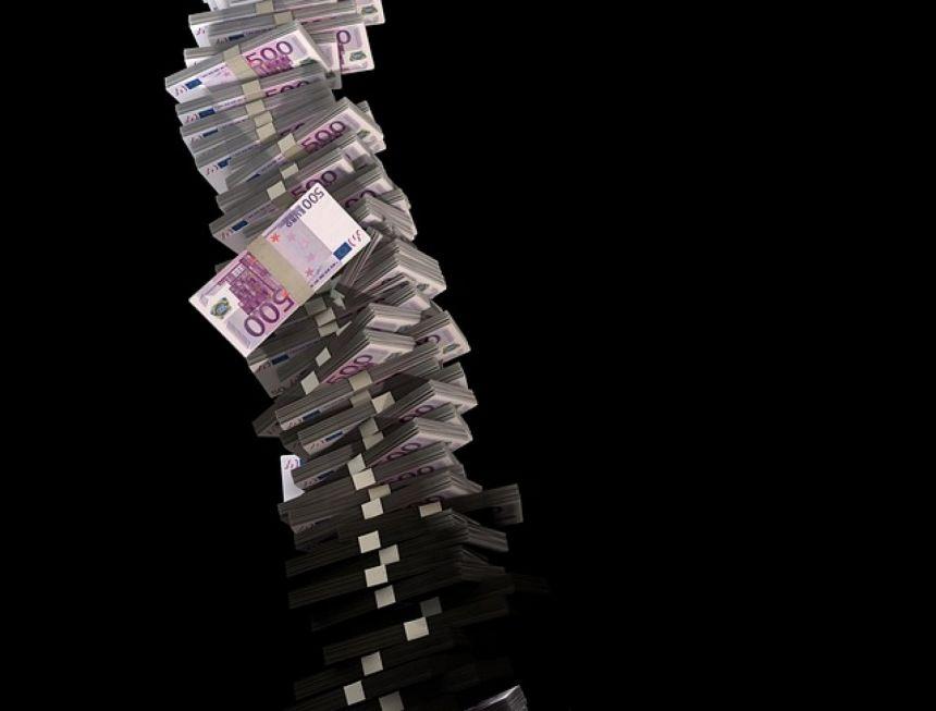 montagne billets de 500€