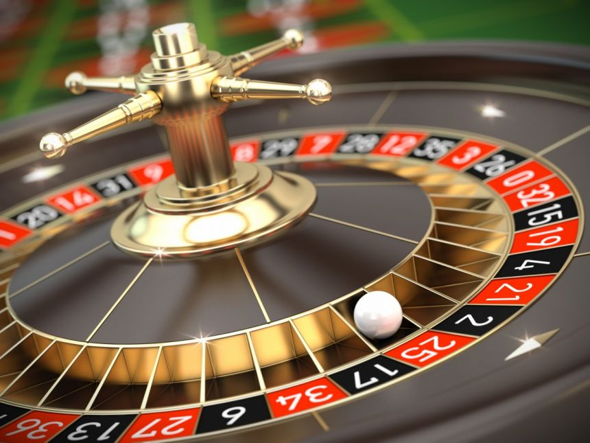 cylindre roulette or casino bille
