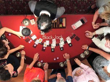 Soirée Casino Animation Entreprise Tables Jeux Black-Jack