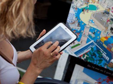 jeux-ville-exterieur-outdoor-entreprise-tablette-team-builidng-seminaire-incentives-collaborateur-chasse-tresor