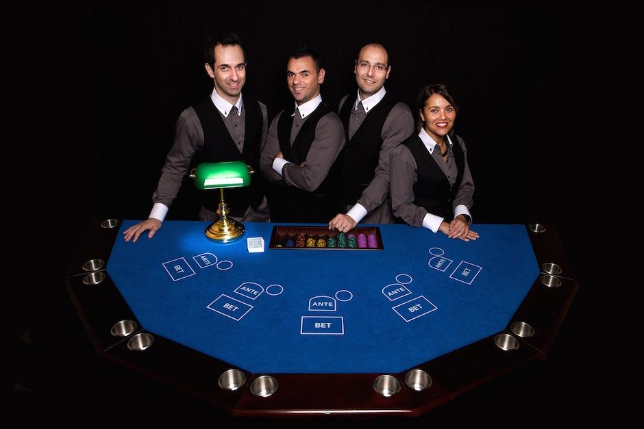 équipe de aa casino