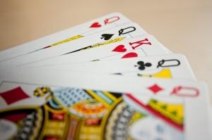 Partie de poker au casino
