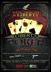 affiche tournoi de poker