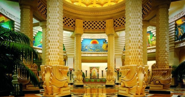 les plus beaux casinos du monde L'atlantis paradise